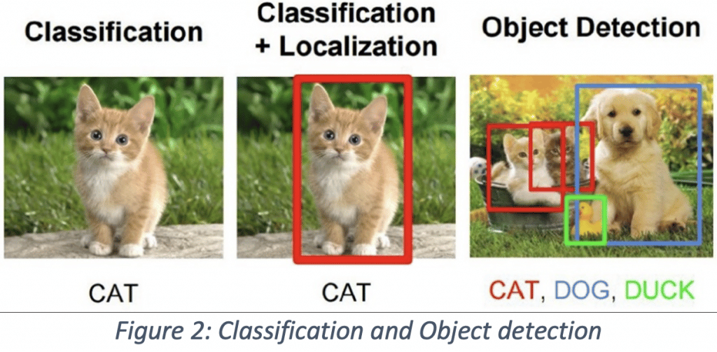 Classification and object detection